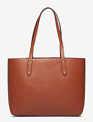Coach - Refined Calf Leather Central Tote - fashion shoppers - gd/1941 saddle - 2