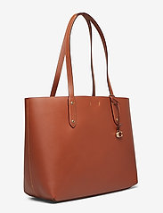 Coach - Refined Calf Leather Central Tote - fashion shoppers - gd/1941 saddle - 3