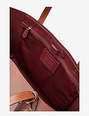 Coach - Refined Calf Leather Central Tote - fashion shoppers - gd/1941 saddle - 4