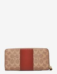 Coach - Womens Wallets Long Wallets - lompakot - b4/tan rust - 2