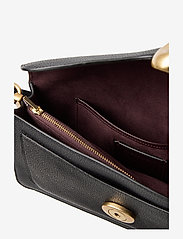 Coach - Polished Pebble Leather Tabby Shoulder Bag 26 - top handle - b4/black 2 - 4