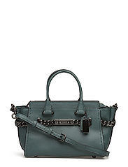 Id Glovetanned Leather Refresh Coach Swagger 27 - DK/DARK TURQUOISE