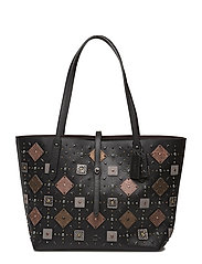 Prairie Rivets Market Tote - BP/BLACK