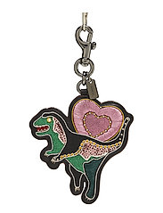 Embellished Rexy Bag Charm - BK/MULTI