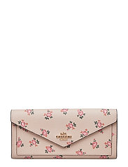 Floral Bloom Soft Wallet - LI/BEECHWOOD FLORAL BLOOM PVC