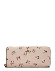 Floral Bloom Slim Accordion Zip - LI/BEECHWOOD FLORAL BLOOM PVC