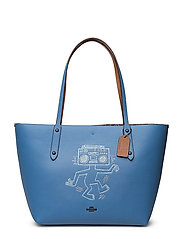 Kh Boombox Monster Market Tote - BP/SKY BLUE