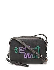 Keith Haring Barking Crazy Dog Camera Bag - BP/BLACK/BLACK