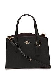 Polished Pebble Leather Charlie 28 Carryall - LI/BLACK