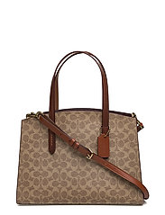 Coated Canvas Signature Charlie Carryall - B4/RUST