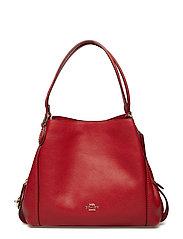Polished Pebble Lthr Edie 31 Shoulder Bag - LI/JASPER