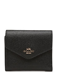 Crossgrain Leather Small Wallet - LI/BLACK
