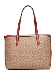 Womens Bags Totes - B4/TAN RUST
