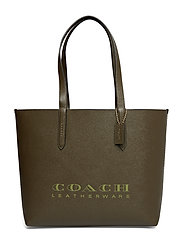 Excl Cew Crossgrain Leather Coach Highline Tote