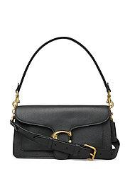 Polished Pebble Leather Tabby Shoulder Bag 26 - B4/BLACK