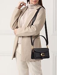 Coach - Polished Pebble Leather Tabby Shoulder Bag 26 - top handle - b4/black 2 - 1