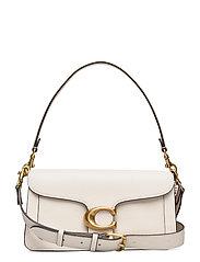 Polished Pebble Leather Tabby Shoulder Bag 26 - B4/CHALK 2
