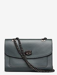 Refined Calf Leather Parker Shoulder Bag - V5N1A