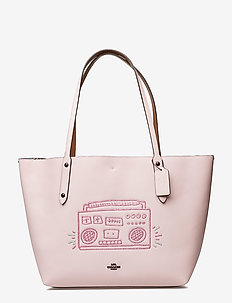 Kh Boombox Market Tote - BP/ICE PINK
