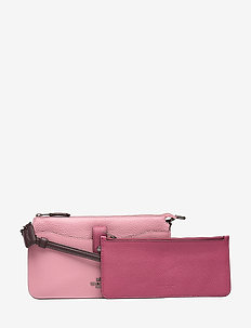 Colorblock Noa - kirjekuorilaukut - pink