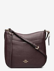 CHAISE CROSSBODY Leather Womens Bags - olkalaukut - gdoxb
