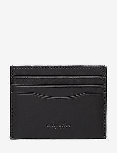 Glovetan Flat Card Case - korttikotelot - dk/black