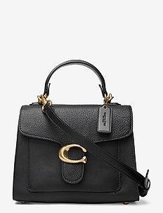 TABBY TOP HANDLE 20 Leather Womens Bags - väskor - black