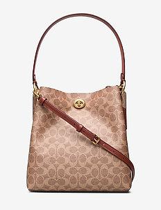 Womens Bags Shoulder Bag - handväskor - b4/tan rust