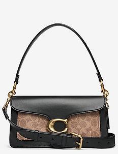 TABBY SHOULDER BAG 26 Logo Womens Bags - skuldertasker - black