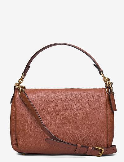 SHAY CROSSBODY - väskor - brown