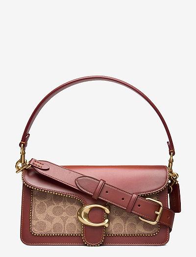 TABBY SHOULDER BAG 26 Non Leather Womens Bags - väskor - beige