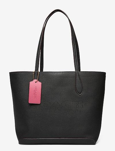 KIA TOTE Leather Womens Bags - shoppingväskor - b4/m2