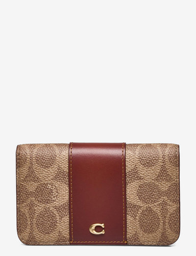SLIM CARD CASE - plånböcker - beige