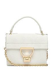 Mignon Suede Bags Top Handle Bags Hvit COCCINELLE