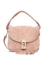 Mignon Suede Bags Top Handle Bags Rosa COCCINELLE