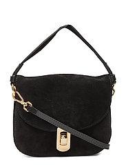 Mignon Suede Bags Top Handle Bags Svart COCCINELLE