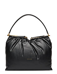 Puff Bags Top Handle Bags Svart COCCINELLE