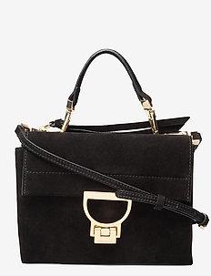 ARLETTIS SUEDE - shoulder bags - noir