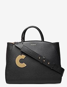 CONCRETE - handväskor - noir