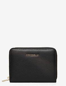 METALLIC SOFT - wallets - noir