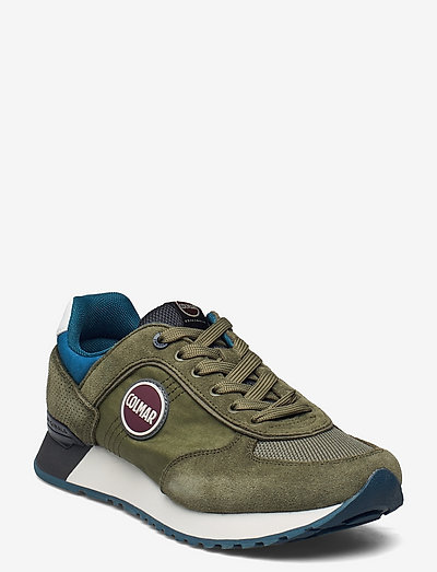 TRAVIS AUTHENTIC - low tops - green-anthracite-petrol