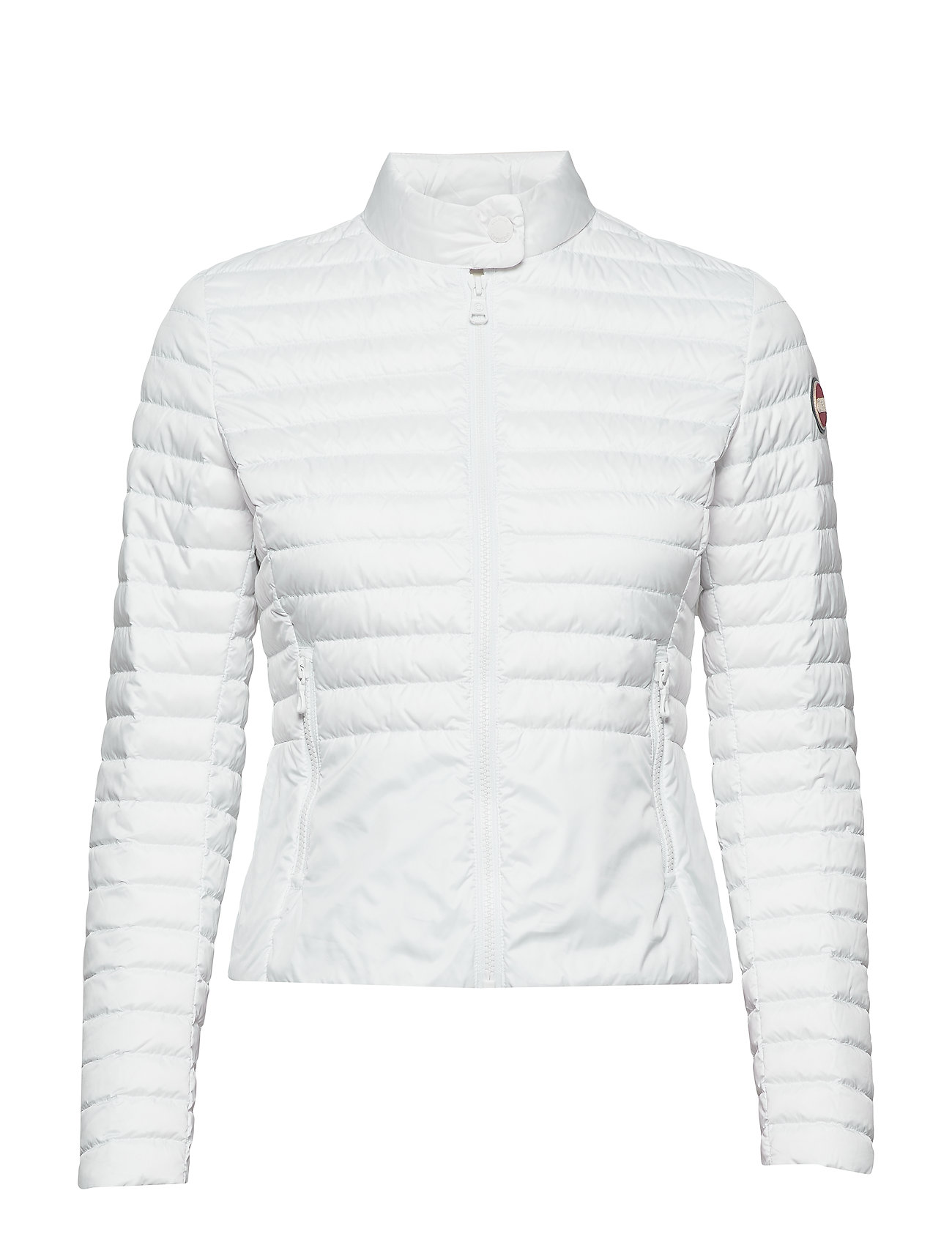 Colmar LADIES DOWN JACKET - 001 WHITE-LIGHT STEEL