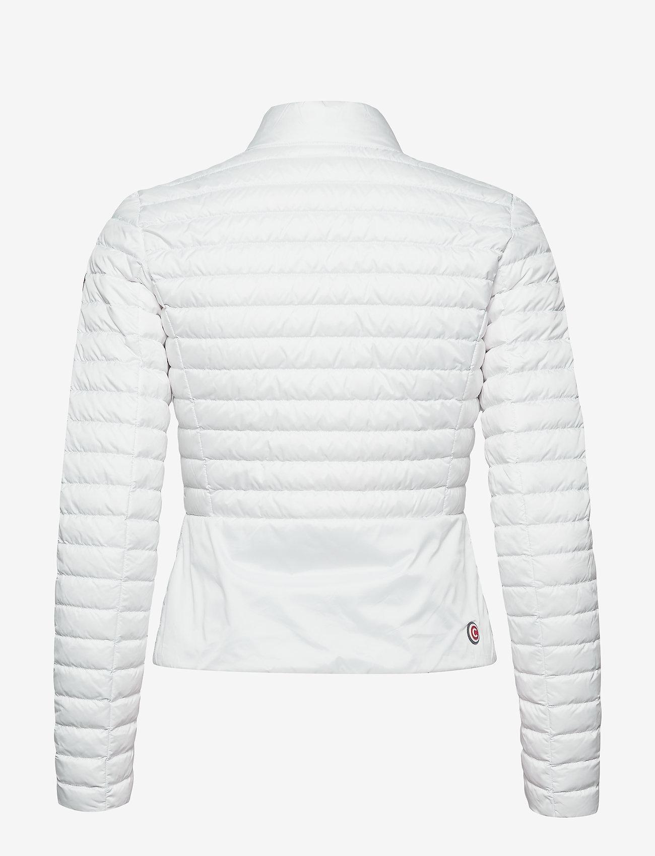 Colmar LADIES DOWN JACKET - Kurtki i Płaszcze 001 WHITE-LIGHT STEEL - Kobiety Odzież.