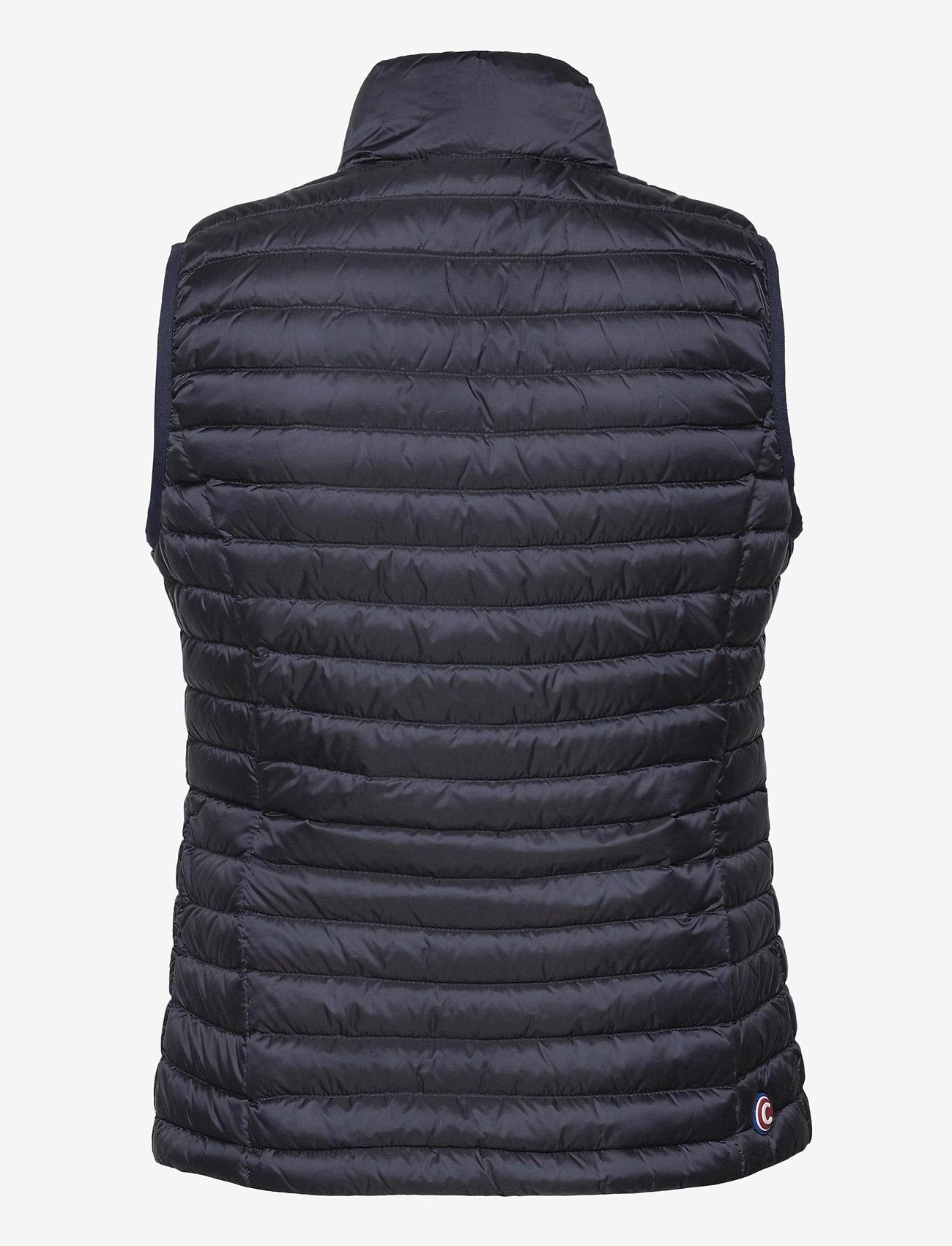 Colmar - LADIES DOWN JACKET - puffer vests - navy blue-light steel - 1