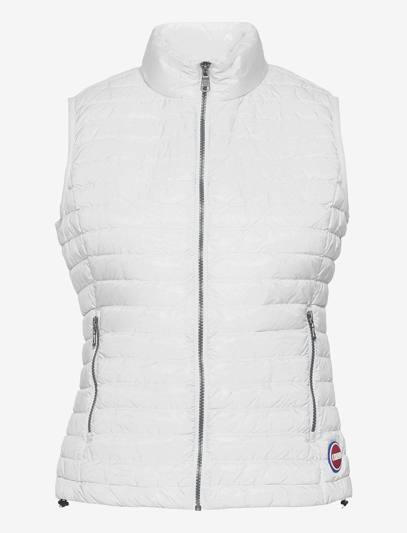 Colmar - LADIES DOWN JACKET - puffer vests - white-light steel - 0