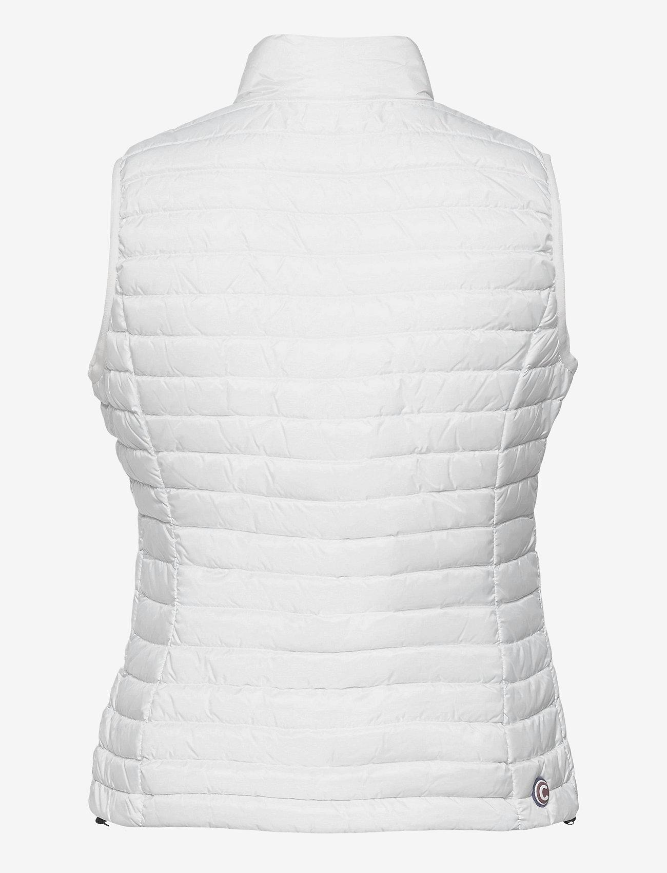 Colmar - LADIES DOWN JACKET - puffer vests - white-light steel - 1
