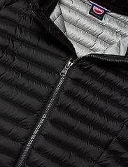 Colmar - LADIES DOWN JACKET - down- & padded jackets - black-light steel - 2