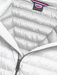 Colmar - LADIES DOWN JACKET - down- & padded jackets - white-light steel - 2