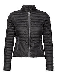LADIES DOWN JACKET - Z99 BLACK-LIGHT STEEL