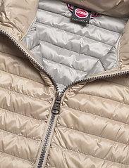 Colmar - LADIES DOWN JACKET - puffer vests - toast-light steel - 2
